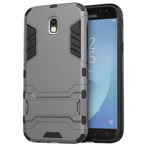 Slim Armour Tough Shockproof Case for Samsung Galaxy J5 Pro - Grey